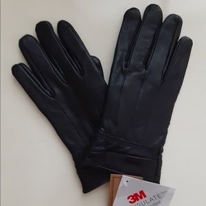 Brand new leather gloves